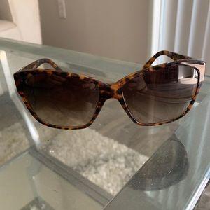 Brown Tortoise Versace Sunglasses